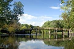 gammal bro north Arkivbild