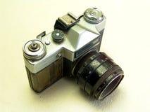 gammal broken kamera Arkivfoton