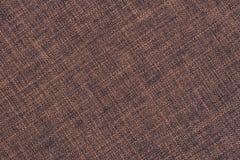 Gammal brun torkduketextur Arkivbilder