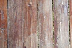 Gammal brun wood modell Royaltyfri Bild