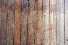 Gammal brun wood modell Arkivbild