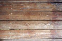 Gammal brun wood modell Royaltyfri Fotografi
