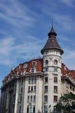 gammal bucharest byggnad Fotografering för Bildbyråer