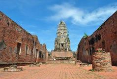 Gammal Buddhatempel Arkivbilder