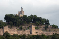 gammal bulgarian fästning Royaltyfri Bild