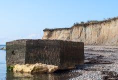Gammal bunker Royaltyfri Bild