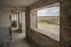 Gammal bunker Arkivbild