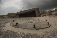 Gammal bunker Royaltyfria Foton