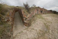Gammal bunker Royaltyfri Fotografi
