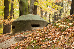 Gammal bunker Arkivbilder