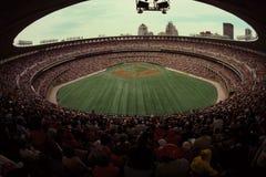 Gammal Busch Stadium, St Louis, MO Arkivfoto
