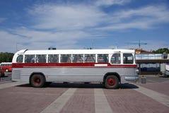 gammal buss Royaltyfri Fotografi