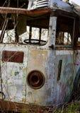 gammal buss Arkivfoton