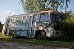 gammal buss arkivbild
