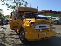 gammal buss Arkivbilder