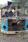 gammal buss Fotografering för Bildbyråer