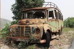 gammal buss Royaltyfri Foto