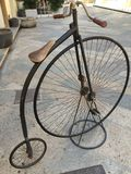 gammal bycicle Royaltyfria Bilder