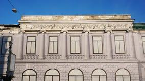 Gammal byggnad är under rekonstruktion arkivfoton