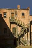 gammal byggnad för 2 tegelsten Royaltyfri Fotografi