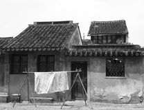 Gammal byggnad för forntida stad royaltyfria bilder