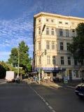 Gammal byggnad i Berlin Arkivbilder