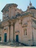 Gammal byggnad i Dubrovnik Royaltyfri Bild