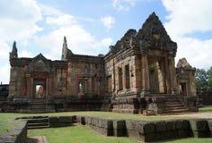 Gammal byggnad i Esan av Thailand Arkivfoton