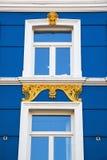 Gammal byggnad i Heerlen, Nederländerna Royaltyfria Bilder