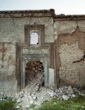 Gammal byggnad i Irak arkivbild