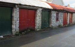 Gammal byggnad i Irland Royaltyfri Bild