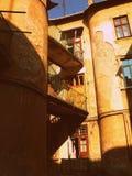 Gammal byggnad i Lviv Royaltyfria Bilder