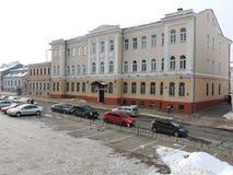 Gammal byggnad i Minsk Fotografering för Bildbyråer