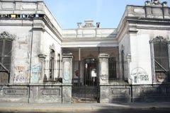 Gammal byggnad i Peru Arkivfoto
