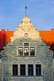 Gammal byggnad i Tallinn Royaltyfri Bild