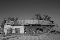 Gammal byggnad i Texas Royaltyfri Bild
