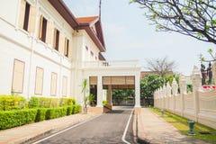Gammal byggnad i Thailand Arkivfoto