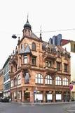 Gammal byggnad i Wiesbaden germany Arkivfoton