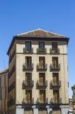 Gammal byggnad på calleborgmästare arkivfoton
