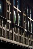gammal byggnadsdetalj Arkivfoto