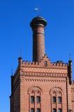 gammal byggnadsfabrik Royaltyfria Bilder