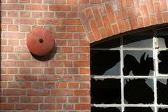 gammal byggnadsfabrik Arkivfoton