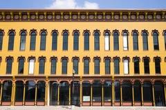 gammal byggnadsfacade Arkivfoto