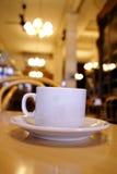 gammal cafe Royaltyfri Bild