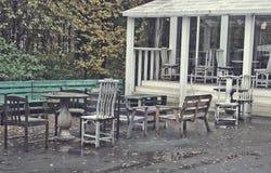 Gammal cafe Royaltyfria Foton
