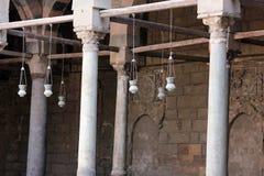 gammal cairo moské Arkivbilder