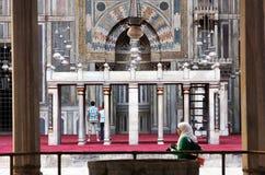 gammal cairo moské Fotografering för Bildbyråer
