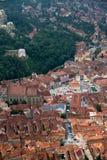 gammal center stad för brasov Arkivfoton