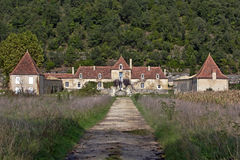 gammal chateau Arkivbilder