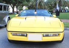 Gammal Chevrolet Corvette bil Arkivfoton